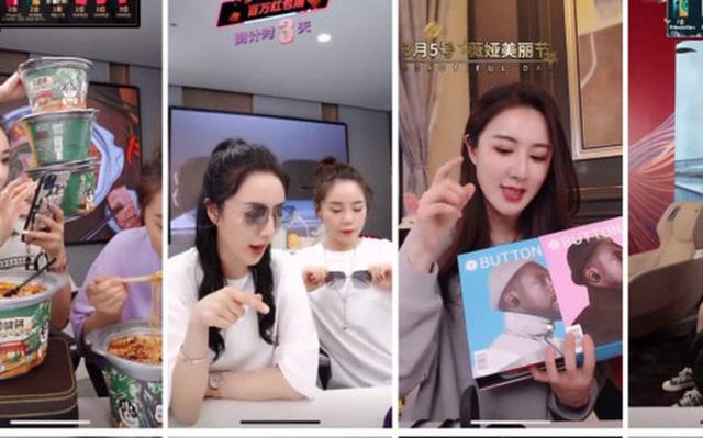 Quản lý bán hàng livestream, kinh nghiệm từ Trung Quốc
